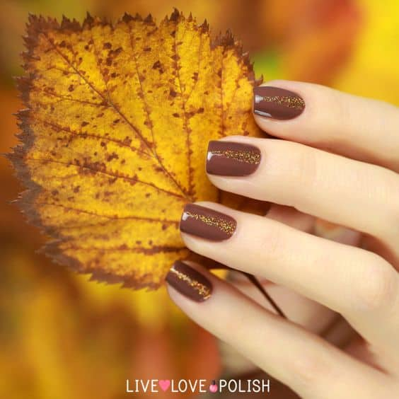 30 Deliciously Creative Chocolate Nail Designs - Wild About Beau
