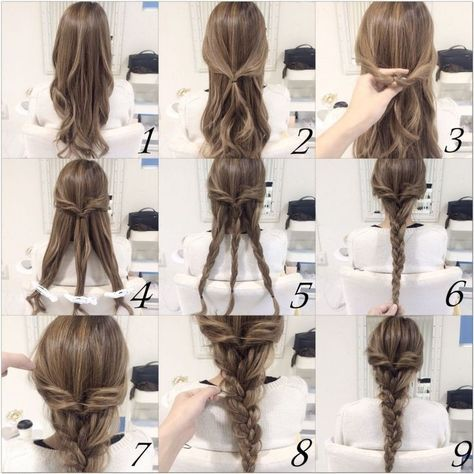 15 DIY Braided Hair Tutorials for Winter | Coiffures simples .