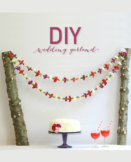 DIY Flower Garland By A Splendid Occasi