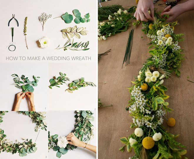 12 DIY Floral Garland Projects for Your Home | Blumen girlan