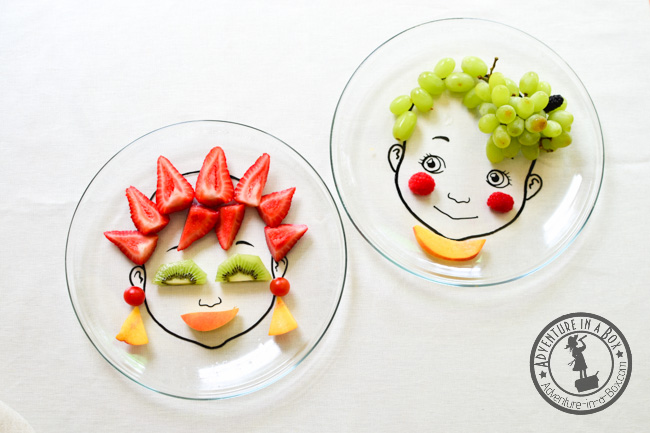DIY Food Face Plate: for Nutritious & Beautiful Meals! | Adventure .