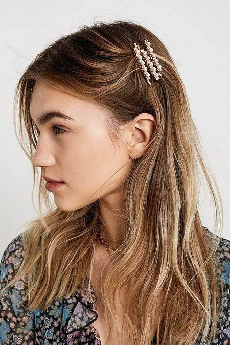How to Style Hair Clips | Clip hairstyles, Headband hairstyles .