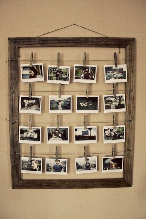 DIY Ideas for Styling the Photo Frames