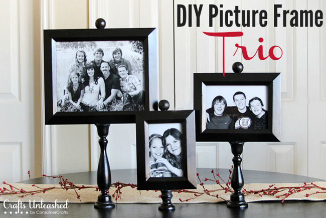 20 best DIY picture frame tutorials - It's Always Autu