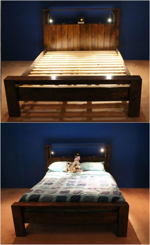 21 DIY Bed Frame Projects – Sleep in Style and Comfort - DIY & Craf