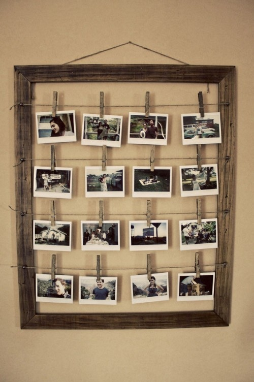 16 DIY Ideas for Styling the Photo Frames - Pretty Desig