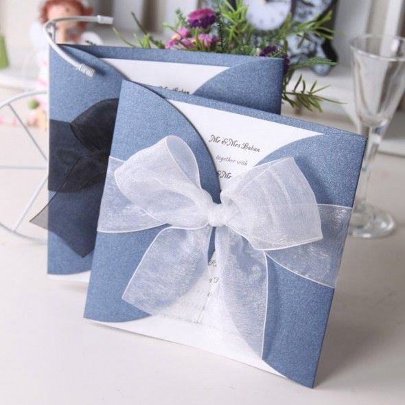 Creative Wedding Invitations – DIY Ideas. Maybe without the big .