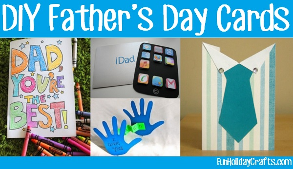 DIY Father's Day Cards Ide