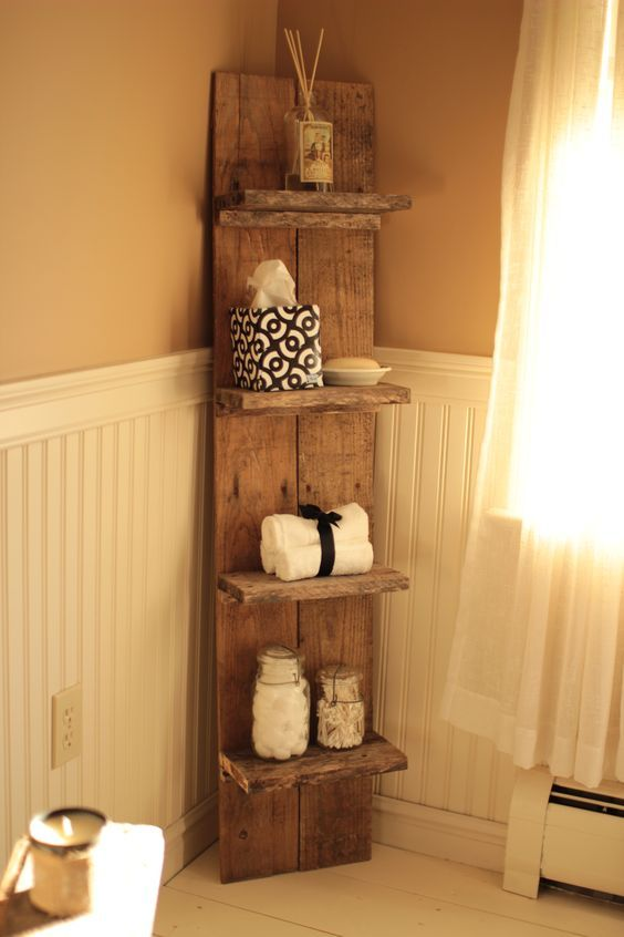 The Best 60+ DIY Pallet Projects for Your Bathroom - Crafts and .