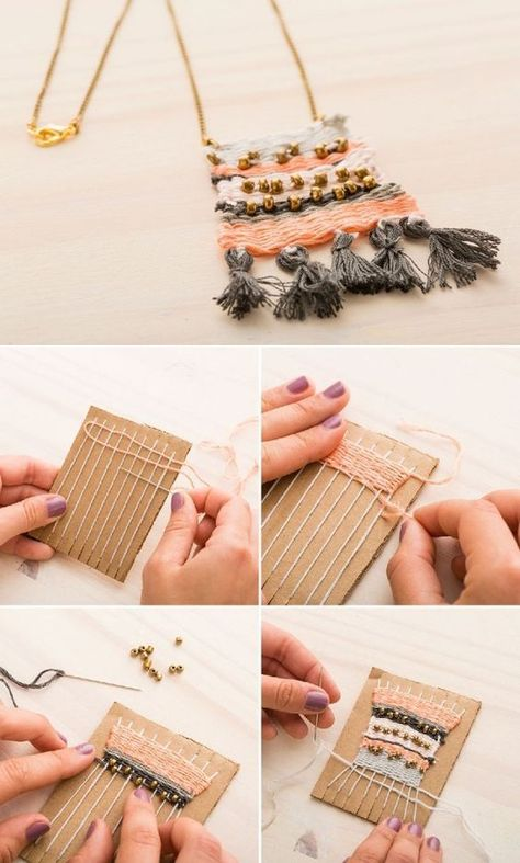 15 DIY Projects for You to Enjoy Winter at Home | Handmade jewelry .