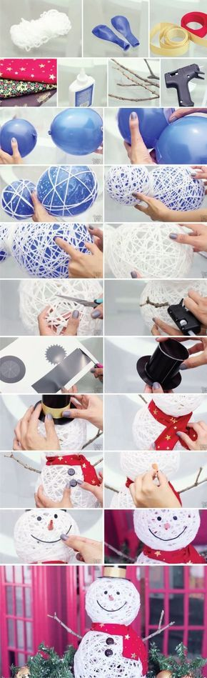 15 DIY Projects for You to Enjoy Winter at Home | Christmas crafts .