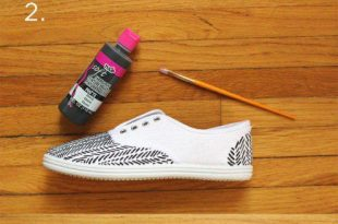 15 DIY Sneaker Makeover Ideas for Spring | Diy schoenen, Schoenen .