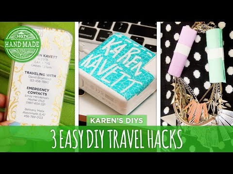 DIY Stuff for an Easy Traveling
