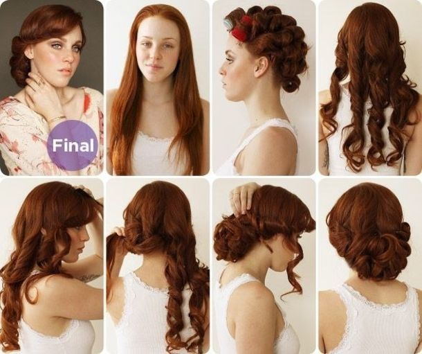 30 Vintage DIY Hairstyles For Women hair diy diy hair vintage hair .