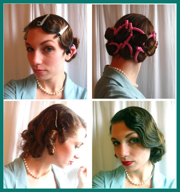 1920s Hairstyles for Medium Hair 179443 30 Diy Vintage Hairstyle .