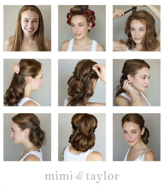 Retro Hairstyle Tutorials You Have To T