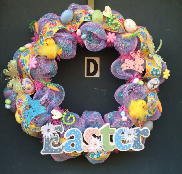 16 Welcoming Handmade Easter Wreath Ideas You Can DIY To Decorate .