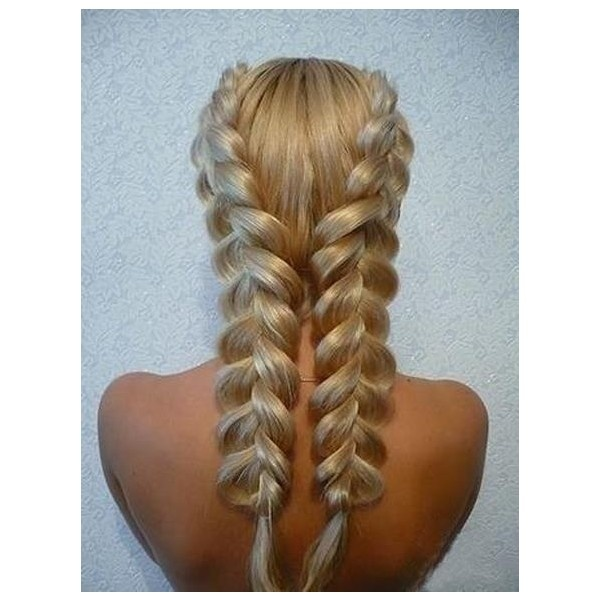 Double Dutch Diagonal Braided Designs for   Girls