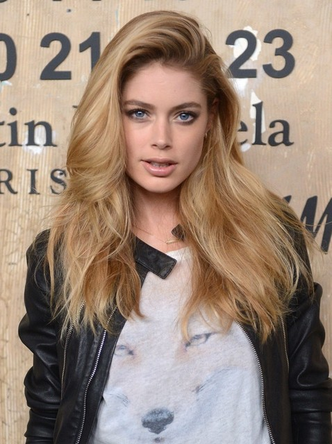 Tousled Hairstyles for Long Hair: Doutzen Kroes Hair - PoPular .