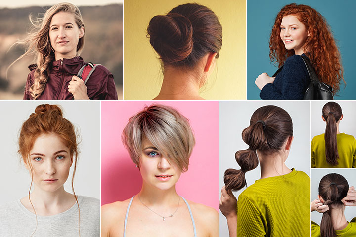 21 Easy And Simple Hairstyles For School Gir