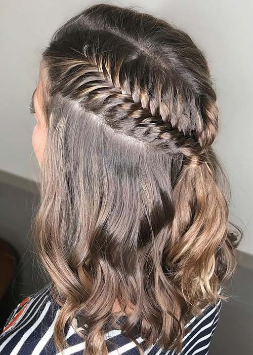 23 Quick and Easy Braids for Short Hair | Braids for short hair .
