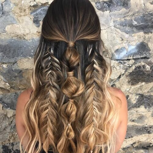 50 Half Up Half Down Hairstyles You'll Totally Love | Hair Motive .