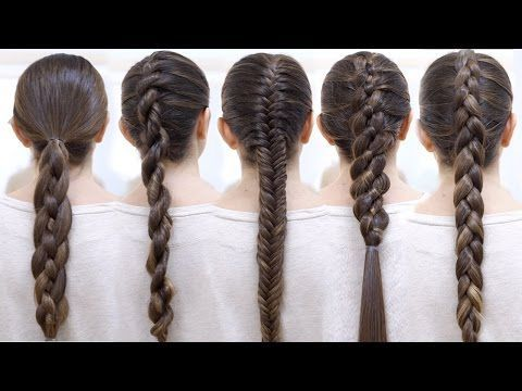 Easy Braid Tutorials for ALL HAIR TYPES - Double the Batch .