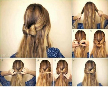Easy 5-Minute Hairstyl