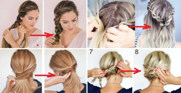 Easy Step By Step Hairstyle Tutorials You Can Do For Less Than 5 .