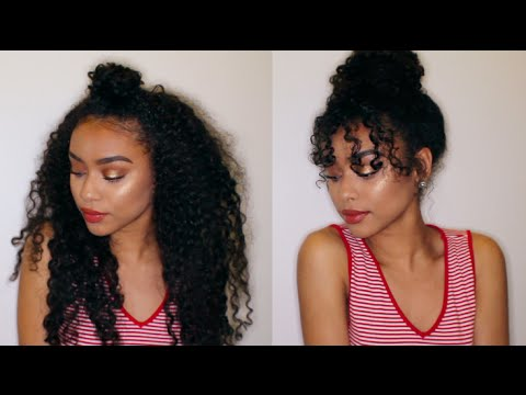 8 Easy Curly Hairstyles | Curly Hair Tutorial | KiaraConsuelo .