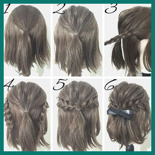 Braided Hairstyles for Short Hair Step by Step 512748 Easy Prom .