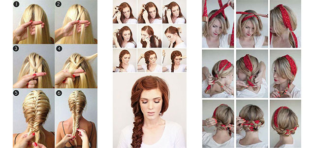 12+ Easy Step By Step Summer Hairstyle Tutorials For Beginners .