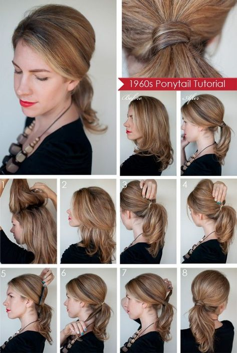 15 Easy Hairstyle Tutorials for Outgoing | Frisuren, Frisur .