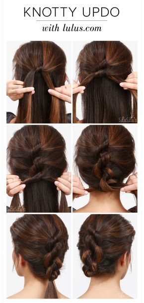 20 Easy Hairstyle Tutorials for Your Everyday Look | Hair styles .
