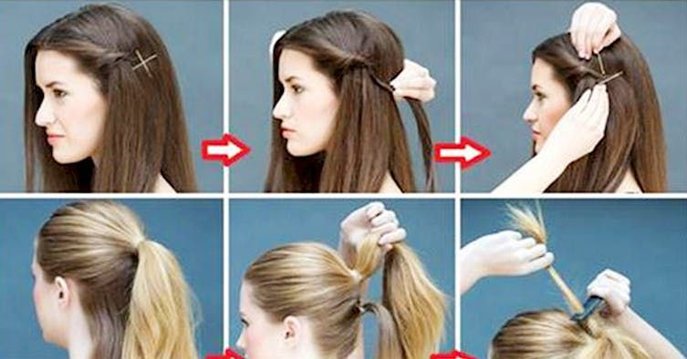 16 Super Simple Hairstyles For The Lazy Girl In All Of