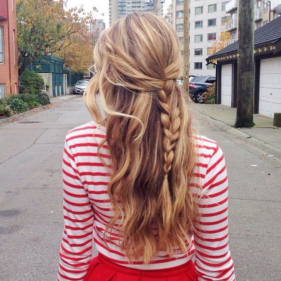 Easy Hairstyles For Any and All Lazy   Girls