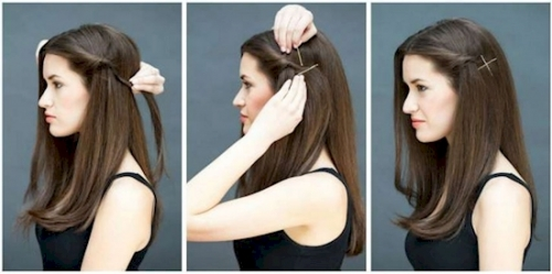 15 SUPER EASY HAIRSTYLES FOR LAZY GIR