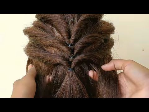 easy and simple hairstyle for girls ||Beautiful Hairstyles .