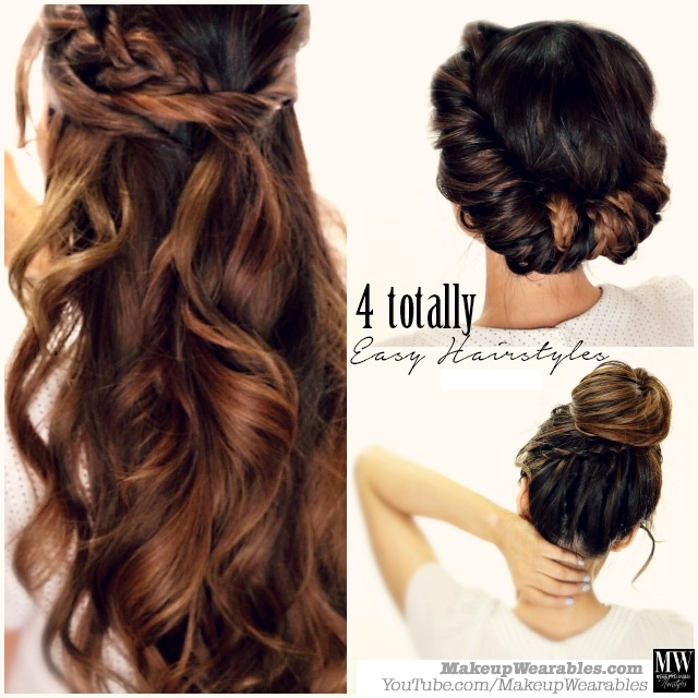 3 Totally Easy Back-to-School Hairstyles | Cute Hair Tutori