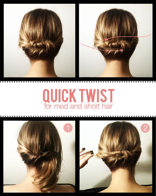 27 Easy Five Minutes Hairstyles Tutorials - Pretty Desig