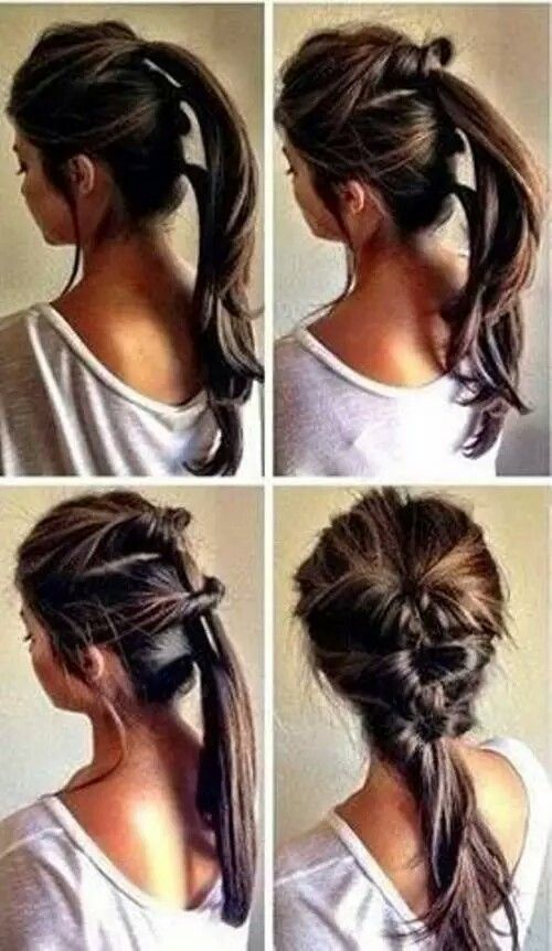 21 Hairstyles You Can Do In Less Than Five Minutes | Easy .