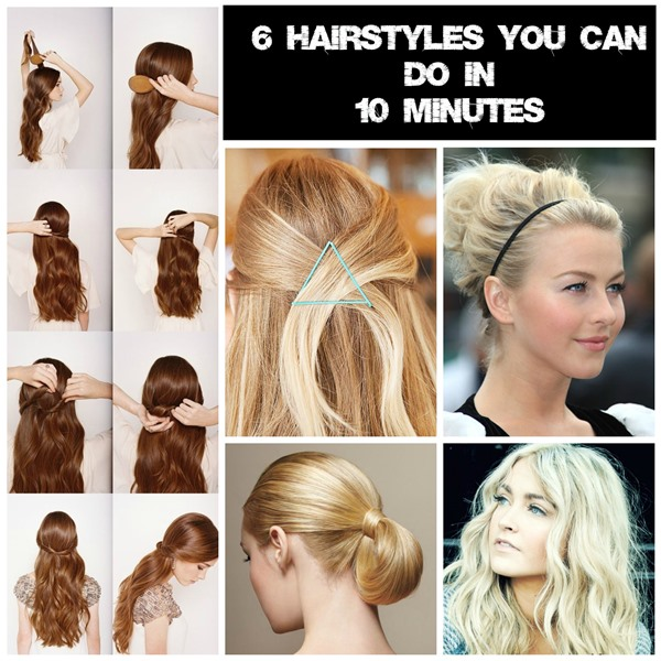 6 Easy hairstyles for mums on the