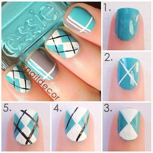 Easy Nail Tutorials – Nail Art Tutorials