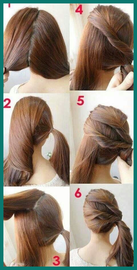 Easy Hairstyles for Beginners 505443 7 Easy Step by Step Hair .