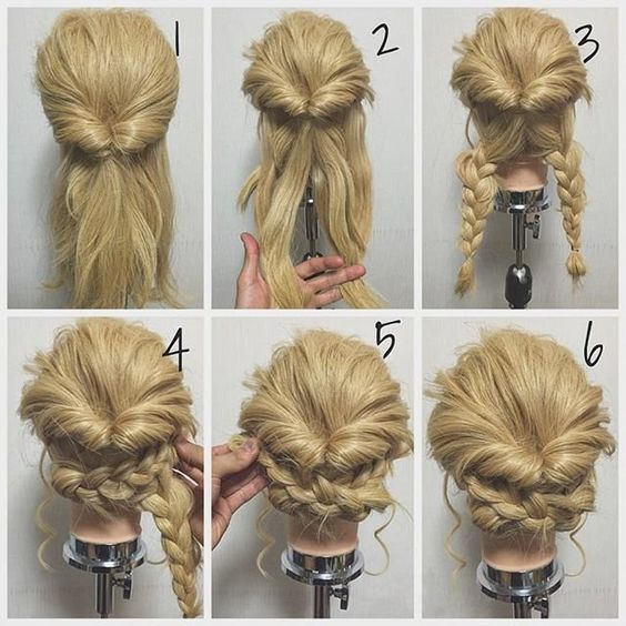 11 Easy Step by Step Updo Tutorials for Beginners - Hair Wrap .