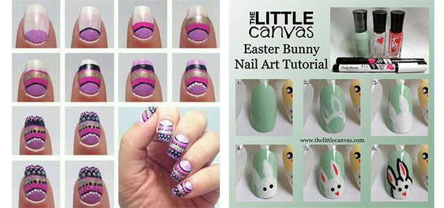 10+ Easy Step By Step Easter Nail Art Tutorials For Learners 2016 .