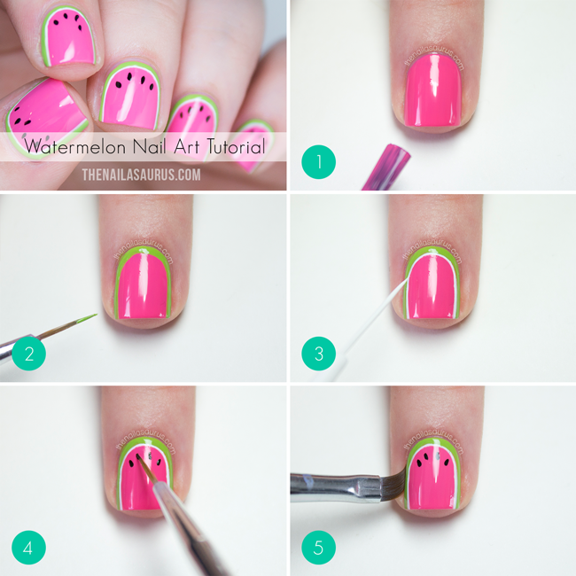 Easy Step by Step Nail Art Tutorials