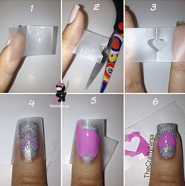 20+ Easy and Fun Step by Step Nail Art Tutorials - Noted Li