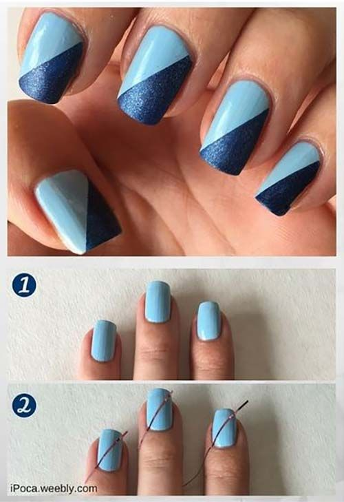 25 Easy Nail Art Designs (Tutorials) for Beginners - 2019 Update .