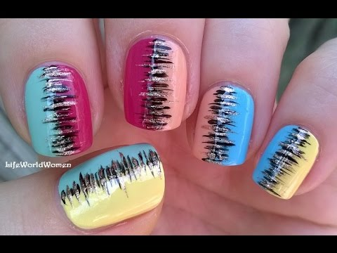 easy stripe nails for beginners  lilostyle